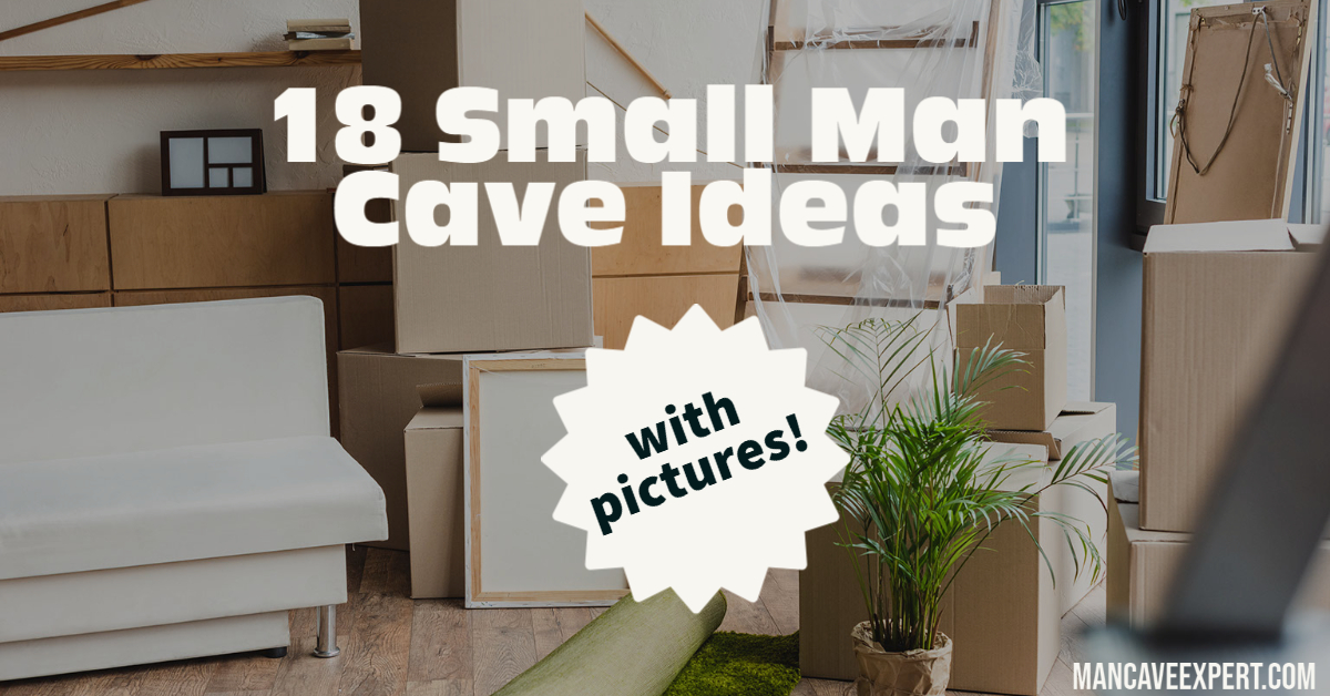 18 Small Man Cave Ideas with Pictures
