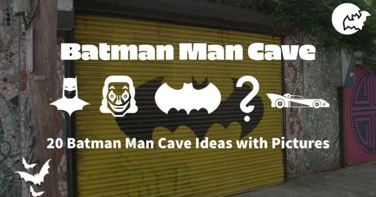 Batman Man Cave