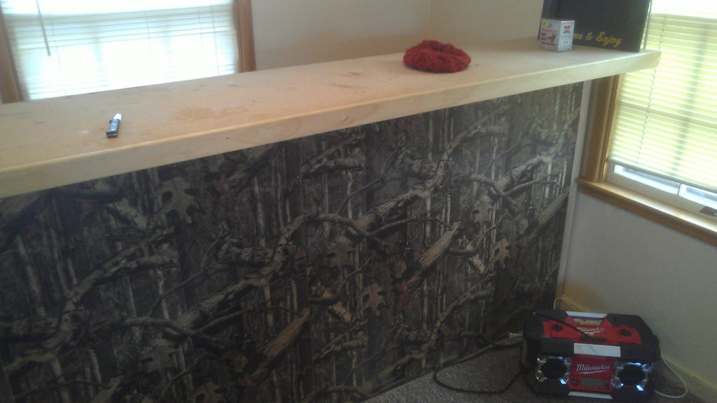 How to Build a Man Cave Bar Instructables