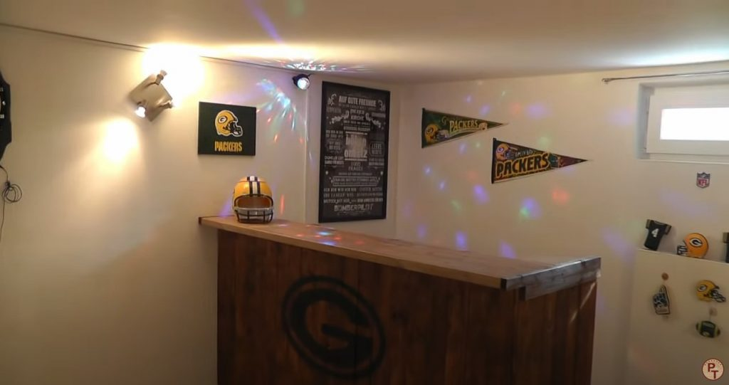 How to Build a Man Cave Bar YouTube