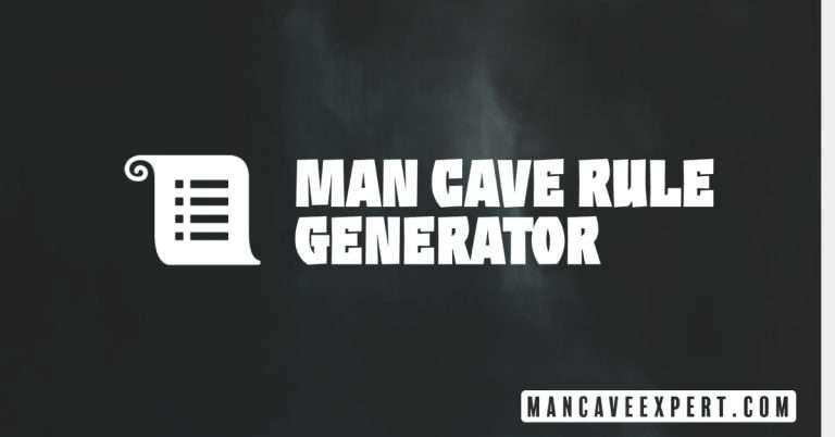 Man Cave Rule Generator