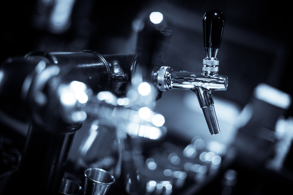 Are there different size taps for kegs
